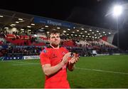 14 December 2018; Jordi Murphy of Ulster following the European Rugby Champions Cup Pool 4 Round 4 match between Ulster and Scarlets at the Kingspan Stadium in Belfast. Photo by Ramsey Cardy/Sportsfile