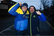 15 December 2018; Leinster supporters Jeff Hendrick, left, and Alan Perth, from Ballyfermot, Dublin, prior to the Heineken Champions Cup Pool 1 Round 4 match between Leinster and Bath at the Aviva Stadium in Dublin. Photo by David Fitzgerald/Sportsfile