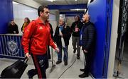15 December 2018; Munster head coach Johann van Graan arrives prior to the Heineken Champions Cup Pool 2 Round 4 match between Castres and Munster at Stade Pierre Fabre in Castres, France. Photo by Brendan Moran/Sportsfile