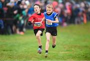 15 December 2018; Luke Merrigan of Kenmare A.C. Kerry competing in the boys U11 1500m race during the Irish Life Health Novice & Juvenile Uneven Age Cross Country Championships 2018 at Navan Adventure Sports, Navan Racecourse in Meath. Photo by Eóin Noonan/Sportsfile