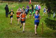 15 December 2018; Athletes competing in the boys U15 3500m race during the Irish Life Health Novice & Juvenile Uneven Age Cross Country Championships 2018 at Navan Adventure Sports, Navan Racecourse in Meath. Photo by Eóin Noonan/Sportsfile