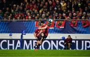 15 December 2018; Joey Carbery of Munster kicks a penalty during the Heineken Champions Cup Pool 2 Round 4 match between Castres and Munster at Stade Pierre Fabre in Castres, France. Photo by Brendan Moran/Sportsfile