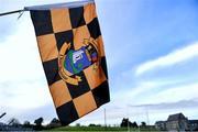 16 December 2018; A St Peter's Dunboyne flag, the club of Seán Cox, on display before the Seán Cox Fundraising match between Meath and Dublin at Páirc Tailteann in Navan, Co Meath. Photo by Piaras Ó Mídheach/Sportsfile