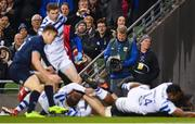 15 December 2018; Leinster Rugby videographer Gavin Owens during the Heineken Champions Cup Pool 1 Round 4 match between Leinster and Bath at the Aviva Stadium in Dublin. Photo by Ramsey Cardy/Sportsfile