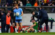 16 December 2018; Bryan Menton of Meath after picking up an injury during the Seán Cox Fundraising match between Meath and Dublin at Páirc Tailteann in Navan, Co Meath. Photo by Piaras Ó Mídheach/Sportsfile