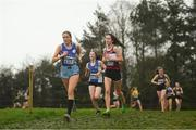 15 December 2018; Lottie Simons of Skerries A.C., Co. Dublin, competing in the U17 Girls event during the Irish Life Health Novice & Juvenile Uneven Age Cross Country Championships 2018 at Navan Adventure Sports, Navan Racecourse in Meath. Photo by Eóin Noonan/Sportsfile
