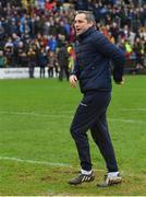16 December 2018; Former Dublin footballer Alan Brogan during a half-time penalty competition during the Seán Cox Fundraising match between Meath and Dublin at Páirc Tailteann in Navan, Co Meath. Photo by Piaras Ó Mídheach/Sportsfile