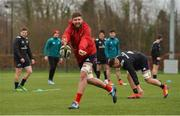 17 December 2018; Darren O'Shea during Munster Rugby squad training at the University of Limerick in Limerick. Photo by Diarmuid Greene/Sportsfile