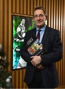18 December 2018; The GAA today launched the innovative online GAA learning portal LCPE.ie, which supports the introduction of Physical Education at Higher and Ordinary Level in the Leaving Certificate Examination. Pictured is Prof. Niall Moyna, Health & Human Performance, DCU, at Croke Park in Dublin. Photo by Seb Daly/Sportsfile