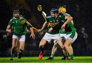 20 December 2018; Jason Diggins of Kerry in action against Tom Morrissey of Limerick during the Co-Op Superstores Munster Hurling League 2019 match between Kerry and Limerick at Austin Stack Park in Tralee, Kerry. Photo by Brendan Moran/Sportsfile