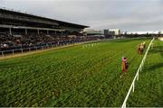 29 December 2018; Tombstone, with Davy Russell up, leads the field past the stand first time round during the Ryanair Hurdle during day four of the Leopardstown Festival at Leopardstown Racecourse in Dublin. Photo by Barry Cregg/Sportsfile