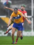 29 December 2018; Cathal Malone of Clare in action against Aidan Walsh of Cork during the Co-Op Superstores Munster Hurling League 2019 match between Clare and Cork at Cusack Park in Clare. Photo by Harry Murphy/Sportsfile