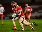 20 December 2018; Eoghan Concannon of Derry during the Bank of Ireland Dr. McKenna Cup Round 1 match between Derry and Tyrone at Celtic Park, Derry. Photo by Oliver McVeigh/Sportsfile