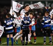 21 December 2018; John Cooney of Ulster runs out for the Guinness PRO14 Round 11 match between Ulster and Munster at the Kingspan Stadium in Belfast. Photo by Oliver McVeigh/Sportsfile