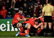 14 December 2018; Marcell Coetzee of Ulster entering a scrum during the European Rugby Champions Cup Pool 4 Round 4 match between Ulster and Scarlets at the Kingspan Stadium, Belfast. Photo by Oliver McVeigh/Sportsfile