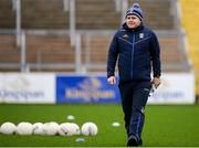 30 December 2018; Cavan manager Mickey Graham prior to the Bank of Ireland Dr McKenna Cup Round 1 match between Cavan and Down at Kingspan Breffni Park in Cavan. Photo by Harry Murphy/Sportsfile