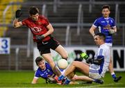 30 December 2018; Shane Annett of Down has a shot on goal saved by Raymond Galligan of Cavan during the Bank of Ireland Dr McKenna Cup Round 1 match between Cavan and Down at Kingspan Breffni Park in Cavan. Photo by Harry Murphy/Sportsfile