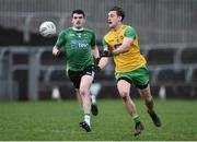 30 December 2018; Hugh McFadden of Donegal in action during the Bank of Ireland Dr McKenna Cup Round 1 match between Donegal and QUB at MacCumhaill Park in Ballybofey, Donegal. Photo by Oliver McVeigh/Sportsfile