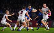 5 January 2019; Conor O'Brien of Leinster breaks his way through the Ulster defence during the Guinness PRO14 Round 13 match between Leinster and Ulster at the RDS Arena in Dublin. Photo by Brendan Moran/Sportsfile