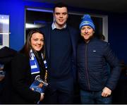 5 January 2019; Guests with Leinster players James Ryan, Luke McGrath and Dan Leavy prior to the Guinness PRO14 Round 13 match between Leinster and Ulster at the RDS Arena in Dublin. Photo by Brendan Moran/Sportsfile