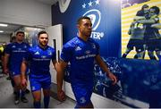 5 January 2019; Adam Byrne of Leinster ahead of the Guinness PRO14 Round 13 match between Leinster and Ulster at the RDS Arena in Dublin. Photo by Ramsey Cardy/Sportsfile