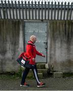 6 January 2019; Cork manager Ronan McCarthy arrives ahead of the McGrath Cup Semi-final between Limerick and Cork at Mick Neville Park in Rathkeale, Co. Limerick. Photo by Ramsey Cardy/Sportsfile