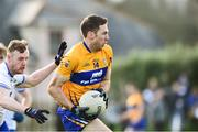 6 January 2019; Gary Brennan of Clare in action against James McGrath of Waterford during the McGrath Cup Semi-final match between Waterford and Clare at the Gold Coast Resort in Waterford. Photo by Matt Browne/Sportsfile