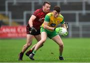 6 January 2019; Niall O'Donnell of Donegal in action against Brendan McArdle of Down during the Bank of Ireland Dr McKenna Cup Round 2 match between Down and Donegal at Pairc Esler in Newry, Co. Down. Photo by Oliver McVeigh/Sportsfile