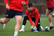 7 January 2019; Conor Murray during Munster Rugby Squad Training at the University of Limerick in Limerick. Photo by Piaras Ó Mídheach/Sportsfile