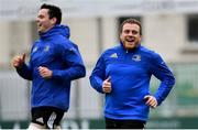 7 January 2019; Seán Cronin, right, and James Ryan during Leinster Rugby squad training at Energia Park in Donnybrook, Dublin. Photo by Ramsey Cardy/Sportsfile