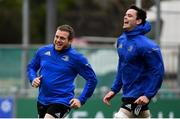 7 January 2019; Seán Cronin, left, and James Ryan during Leinster Rugby squad training at Energia Park in Donnybrook, Dublin. Photo by Ramsey Cardy/Sportsfile