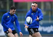 7 January 2019; Ed Byrne during Leinster Rugby squad training at Energia Park in Donnybrook, Dublin. Photo by Ramsey Cardy/Sportsfile