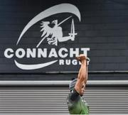 8 January 2019; Ultan Dillane during Connacht Rugby squad training at the Sportsground in Galway. Photo by Seb Daly/Sportsfile