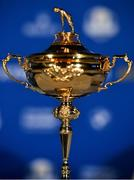8 January 2019; A general view of the Ryder Cup prior to the announcement of the European Ryder Cup captain for the 2020 Ryder Cup matches which take place at Whistling Straits, USA, at the Wentworth Club in Surrey, England. Photo by Brendan Moran/Sportsfile