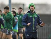 8 January 2019; Head of strength and conditioning David Howarth during Connacht Rugby squad training at the Sportsground in Galway. Photo by Seb Daly/Sportsfile