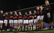 9 January 2019; The High School players after the Bank of Ireland Vinnie Murray Cup Round 1 match between The High School and Salesian College at Energia Park in Dublin. Photo by Matt Browne/Sportsfile