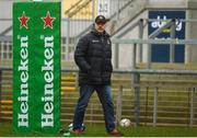 11 January 2019; Ulster head coach Dan McFarland during the Ulster Rugby Captain's Run at the Kingspan Stadium in Belfast, Co Antrim. Photo by Eoin Smith/Sportsfile