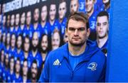 11 January 2019; Rhys Ruddock poses for a portrait ahead of a Leinster Rugby press conference at the RDS Arena in Dublin. Photo by Ramsey Cardy/Sportsfile