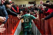 11 January 2019; Chris Farrell of Munster leaves the field following the Heineken Champions Cup Pool 2 Round 5 match between Gloucester and Munster at Kingsholm Stadium in Gloucester, England. Photo by Seb Daly/Sportsfile
