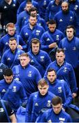 12 January 2019; Leinster players, including Josh van der Flier, centre, arrive prior to the Heineken Champions Cup Pool 1 Round 5 match between Leinster and Toulouse at the RDS Arena in Dublin. Photo by Stephen McCarthy/Sportsfile
