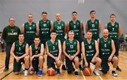12 January 2019; The BC Leixlip Zalgiris team prior to the Hula Hoops NICC Men's National Cup semi-final match between Drogheda Bullets and BC Leixlip Zalgiris 1 at the Mardyke Arena UCC in Cork.  Photo by Brendan Moran/Sportsfile