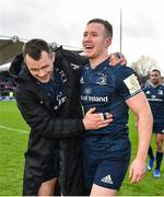 12 January 2019; Cian Healy, left, and Rory O'Loughlin of Leinster following the Heineken Champions Cup Pool 1 Round 5 match between Leinster and Toulouse at the RDS Arena in Dublin. Photo by Seb Daly/Sportsfile