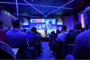12 January 2019; Bernard Dunne, High Performance Director, Irish Athletic Boxing Association, speaking about 'A Journey of Endeavour Around Becoming Better' at The GAA Games Development Conference, in partnership with Sky Sports, which took place in Croke Park on Friday and Saturday. A record attendance of over 800 delegates were present to see over 30 speakers from the world of Gaelic games, sport and education. Croke Park, Dublin. Photo by Piaras Ó Mídheach/Sportsfile