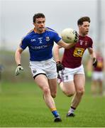 12 January 2019; Darren Quinn of Longford during the Bord na Mona O'Byrne Cup semi-final match between Westmeath and Longford at Downs GAA Club in Westmeath. Photo by Sam Barnes/Sportsfile