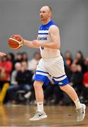 12 January 2019; Paddy McGaharan of Belfast Star during the Hula Hoops Men's Pat Duffy National Cup semi-final match between UCD Marian and Belfast Star at the Mardyke Arena UCC in Cork. Photo by Brendan Moran/Sportsfile