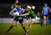 12 January 2019; Stephen Smith of Dublin in action against Ronan Ryan of Meath during the Bord na Mona O'Byrne Cup semi-final match between Dublin and Meath at Parnell Park in Dublin. Photo by Sam Barnes/Sportsfile
