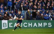 12 January 2019; Luke McGrath of Leinster during the Heineken Champions Cup Pool 1 Round 5 match between Leinster and Toulouse at the RDS Arena in Dublin. Photo by Stephen McCarthy/Sportsfile