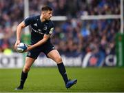 12 January 2019; Ross Byrne of Leinster during the Heineken Champions Cup Pool 1 Round 5 match between Leinster and Toulouse at the RDS Arena in Dublin. Photo by Stephen McCarthy/Sportsfile