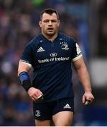 12 January 2019; Cian Healy of Leinster during the Heineken Champions Cup Pool 1 Round 5 match between Leinster and Toulouse at the RDS Arena in Dublin. Photo by Stephen McCarthy/Sportsfile