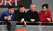 12 January 2019; Kerry footballer David Clifford in attendance during the Hula Hoops Men's Pat Duffy National Cup semi-final match between Pyrobel Killester and Garvey's Tralee Warriors at the Mardyke Arena UCC in Cork.  Photo by Brendan Moran/Sportsfile